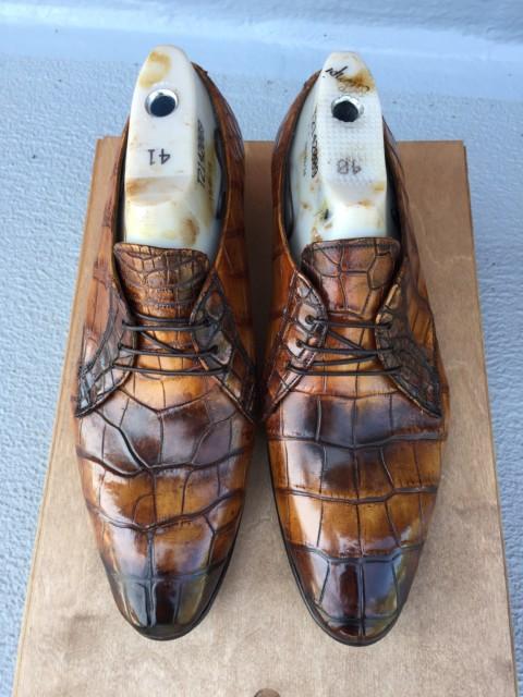 Krokodille Cognac